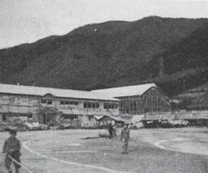 昭和17年 校舎建築の頃