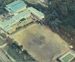 昭和63年10月航空写真人文字