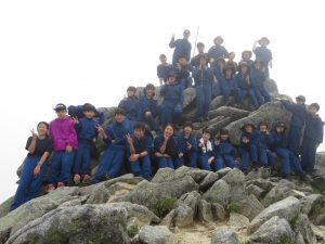 駒ヶ岳登山